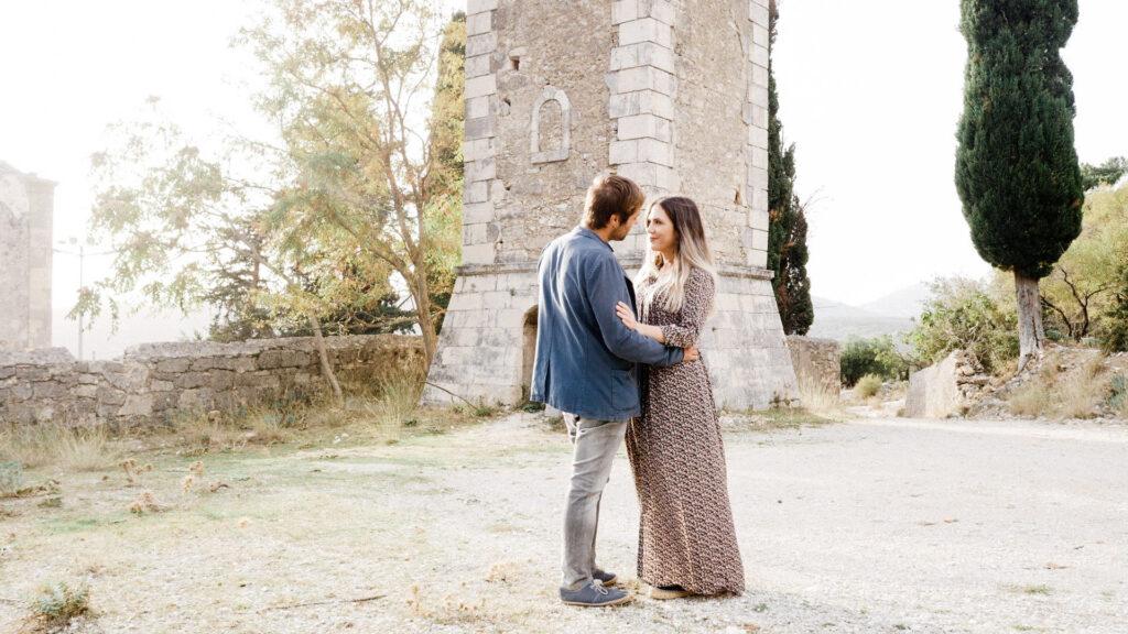 Τέχνη, έρωτας και στιγμές μοναδικές για την Άννα και τον Άγγελο, στο γάμο τους, στην Κεφαλονιά